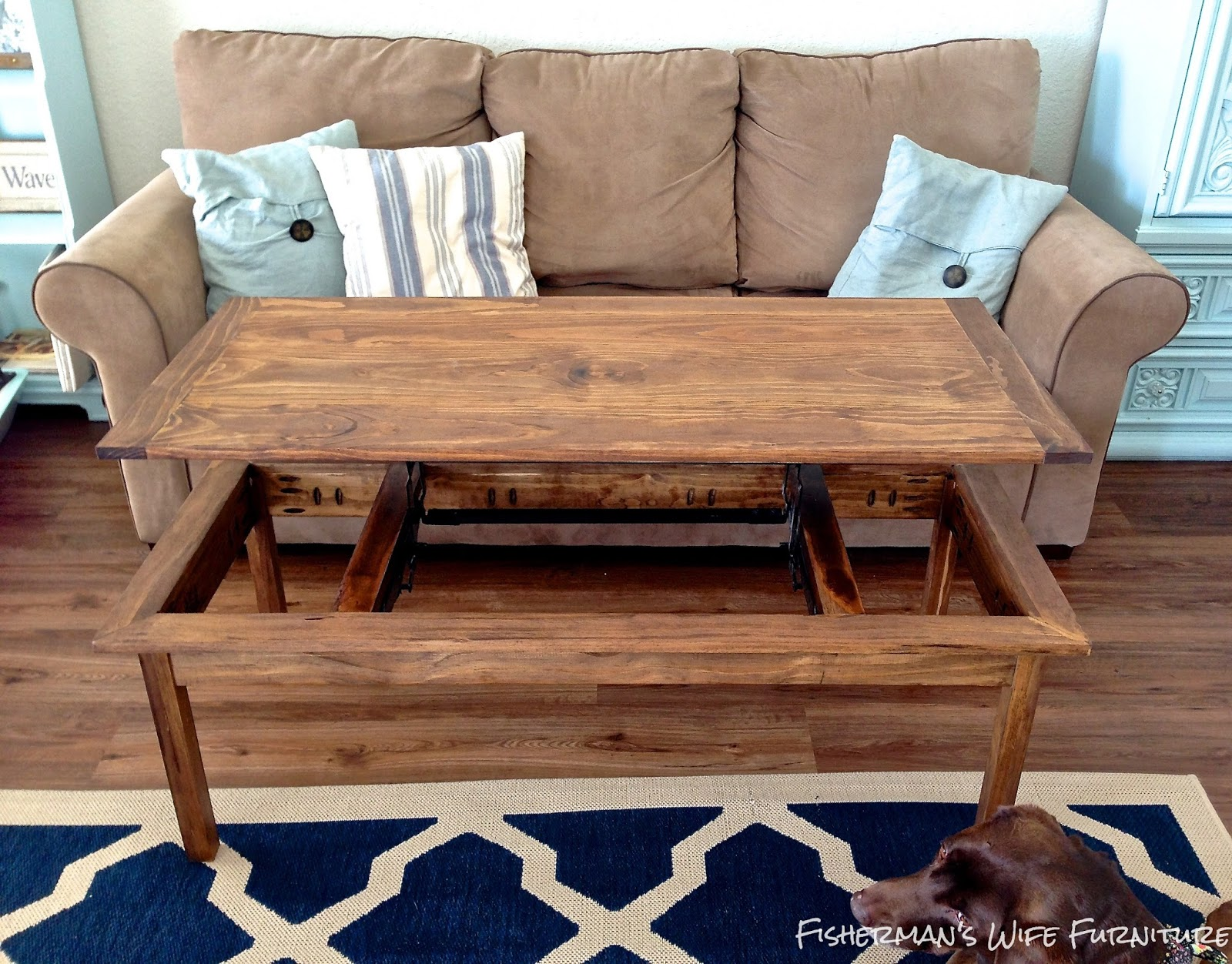Fisherman s Wife Furniture DIY Coffee Table