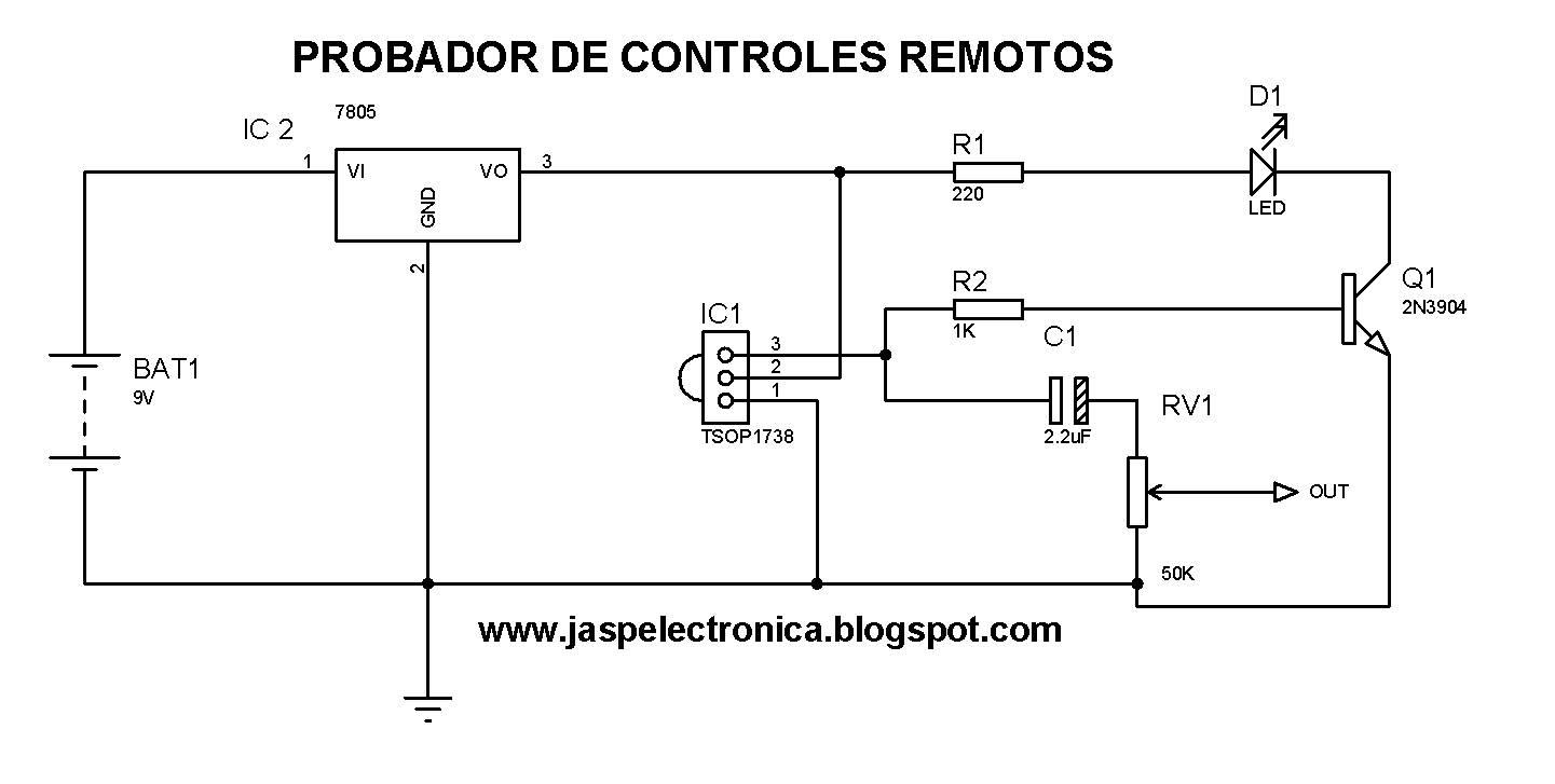 Circuito Optoacoplador : Jasp electronica: circuitos electrónicos practicos