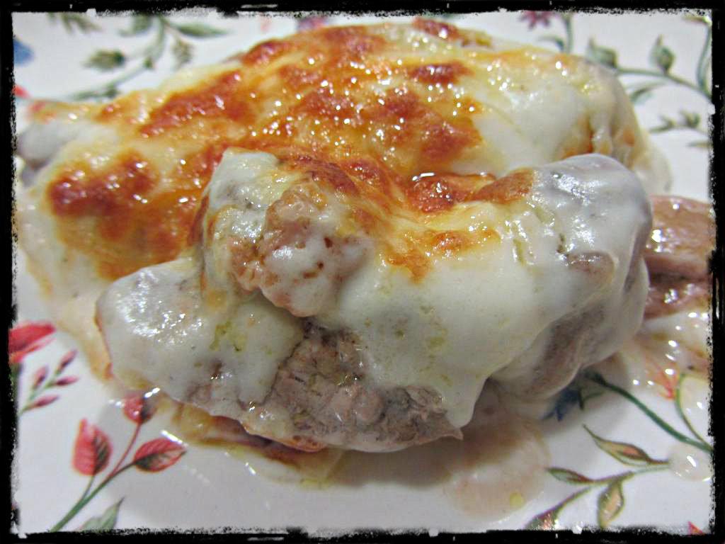 Solomillo de ternera en salsa mornay cocina for Solomillo de ternera