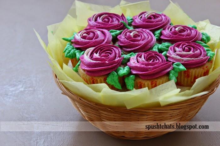 Spusht | Cupcake Basket