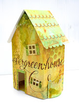 """Doodled Holiday House"" with Eileen Hull @ Angela's Happy Stamper, Dec 1, 2012"