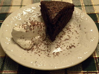 wheat-free/gluten-free chocolate cake
