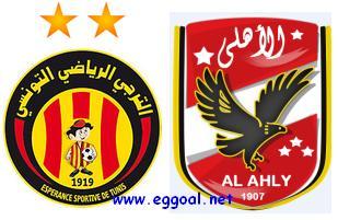 البث المباشر والقنوات المفتوحة التى تنقل مباراة الاهلى والترجى فى كأس الاتحاد الافريقى + موعد وتوقيت المباراة || كأس الاتحاد الافريقى دور 8 Ahly vs Espérance de tunisia