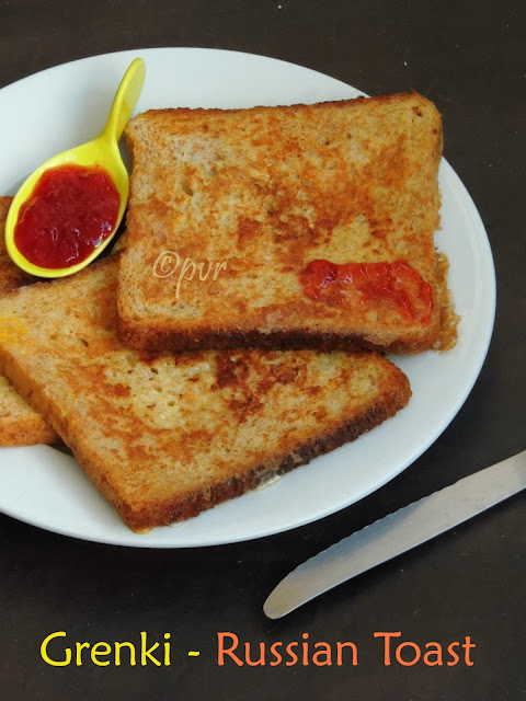 Russian french toast - Grenki