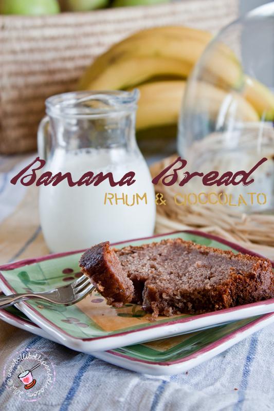 banana bread rhum & cioccolato