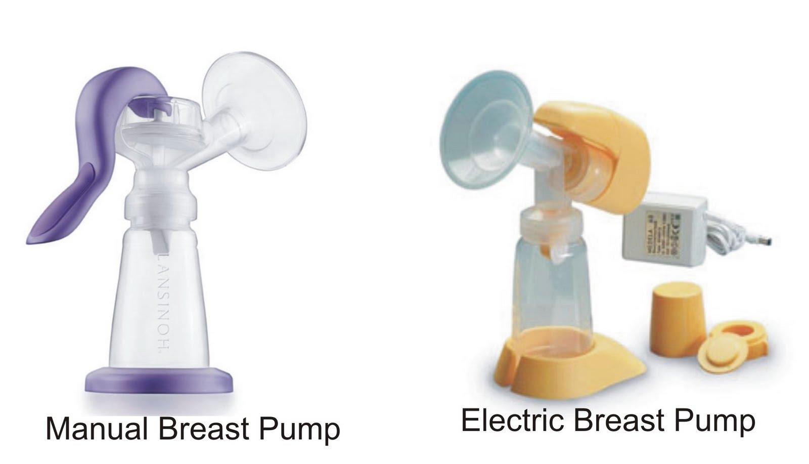 Manual breast pump vs electric