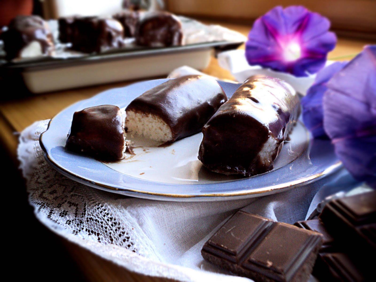 Сырочки в шоколаде