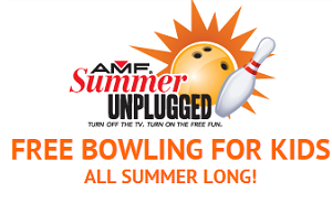Kids Bowl Free this Summer at AMF Bowling Centers
