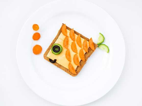 бутерброд для детей