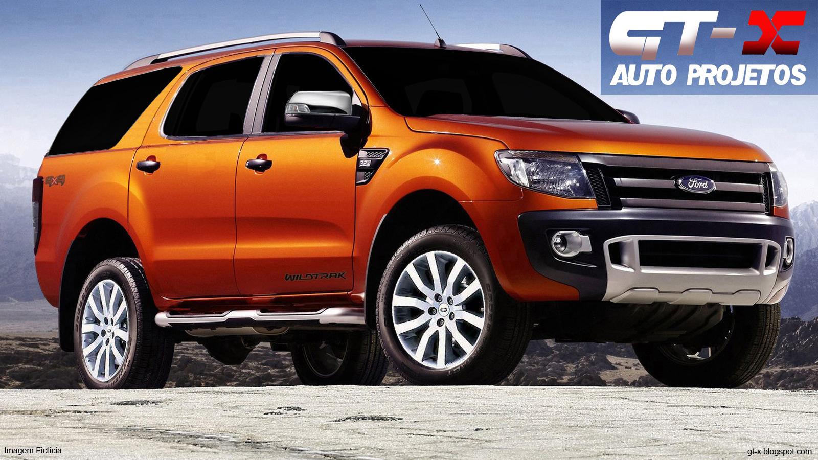 2013 Ford Everest Preview - Futura concorrente da Chevrolet Blazer