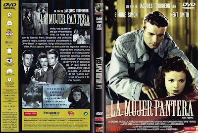La mujer pantera (1942) | Caratula | Cartel | Película | Cine Clásico