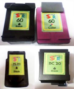 Jual Cartridge Untuk CANON & HP Bergaransi Rp 60.000-Rp 120.000
