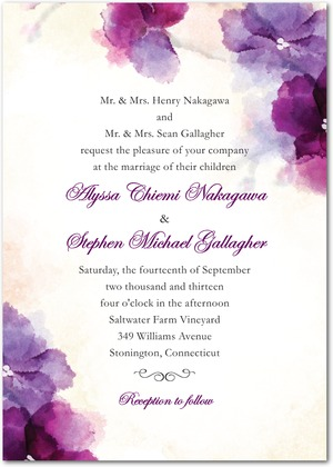 Wedding Invitation Wording Struggling with what to put in your invitation