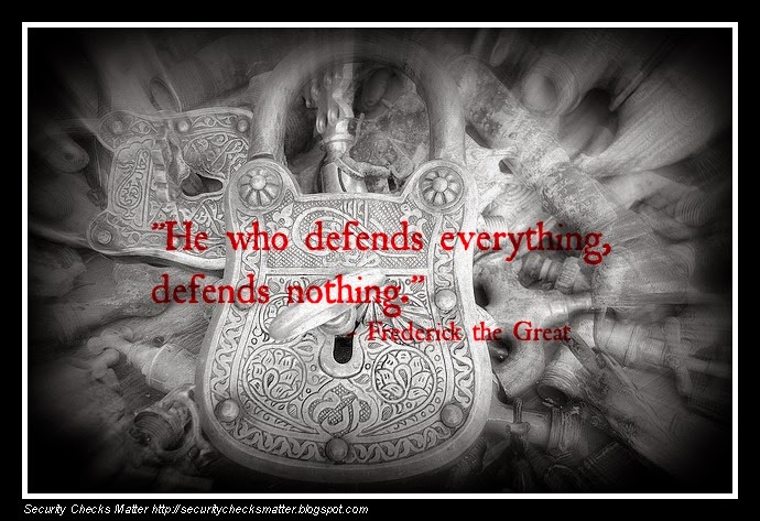 He who defends everything defends nothing