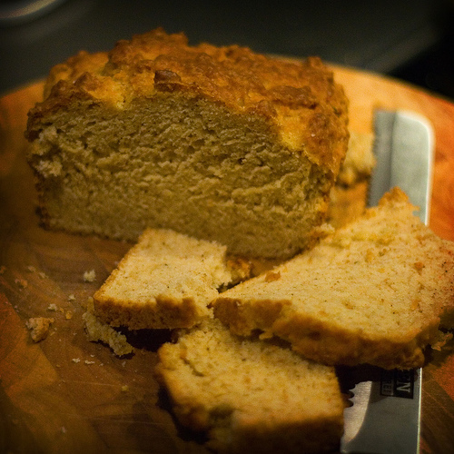 how to serve beer bread