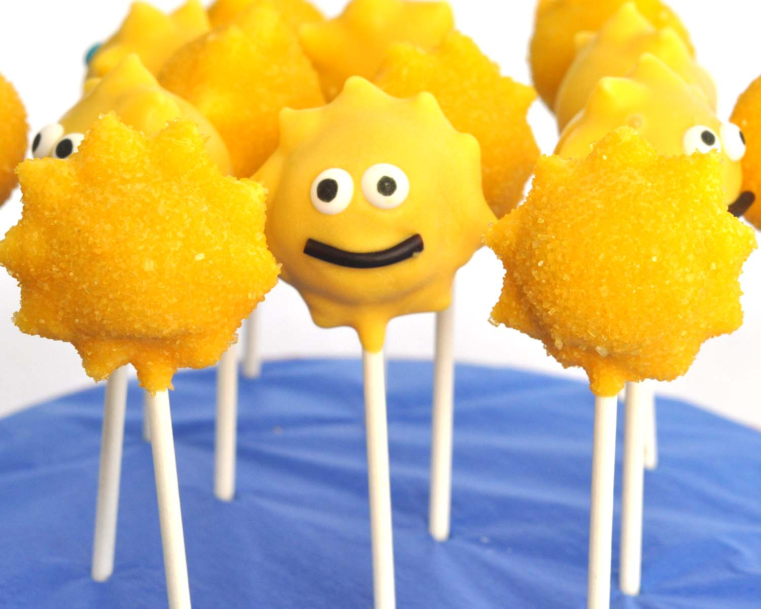 Beki Cook's Cake Blog: Summer Sunshine Cake Pops