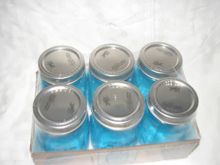 Ball Heritage Collection Pint Jars Blue mason jars