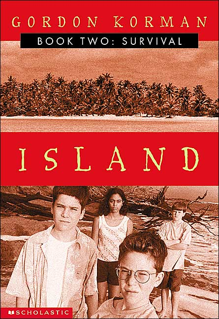 Book about island survival vacation