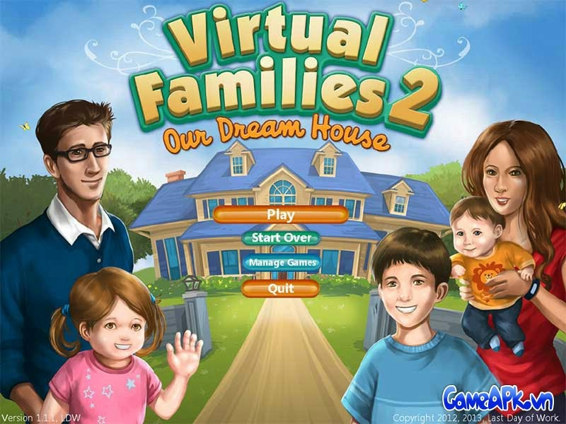Virtual Families 2 v1.4.1.5 hack full tiền cho Android