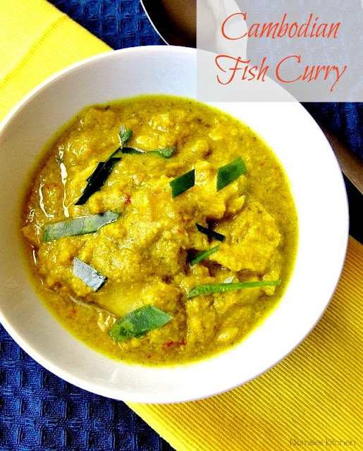 Cambodian Fish Curry Recipe from nomsieskitchen.com