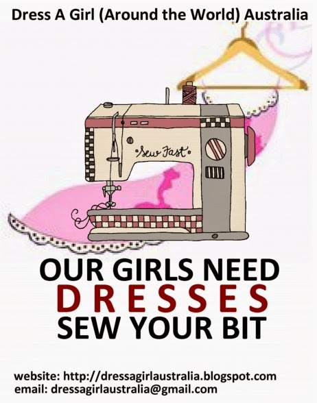 Our girls need dresses...sew your bit