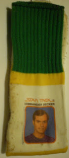1979 Commander Decker socks from Star Trek The Motion Picture