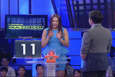 Iza Calzado Plays on Kapamilya Deal or No Deal (July 14)
