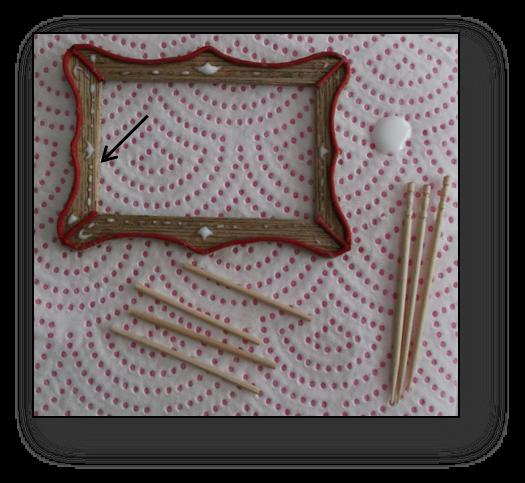 unoesadoce: Tutorial marco para cuadros / Picture frame tutorial