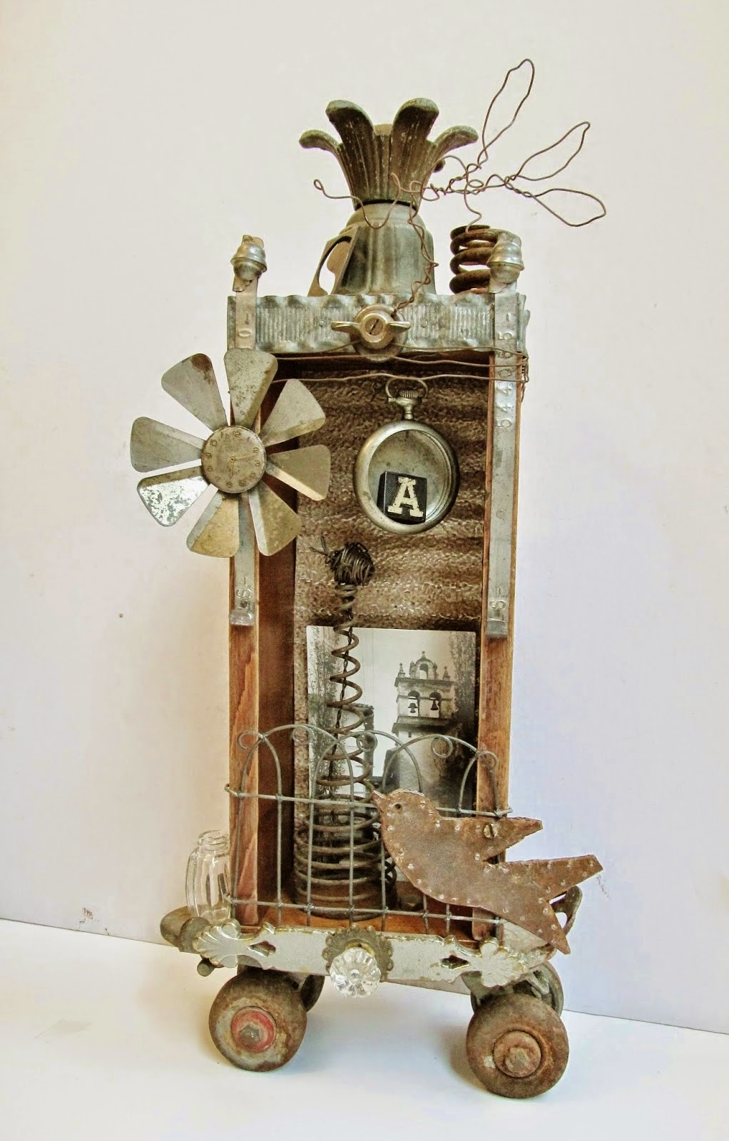 Assemblage Art Shadowbox