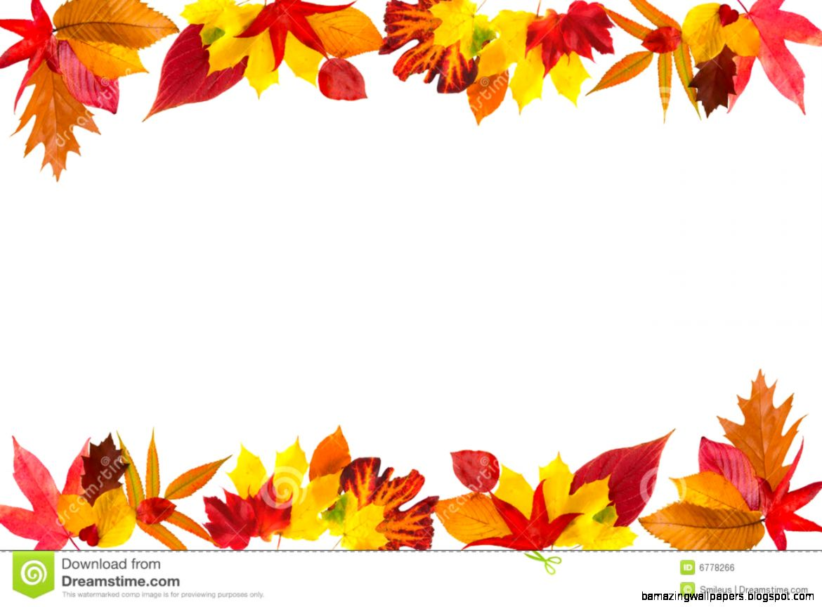 Autumn Leaves Border Royalty Free Stock Image   Image 6778266