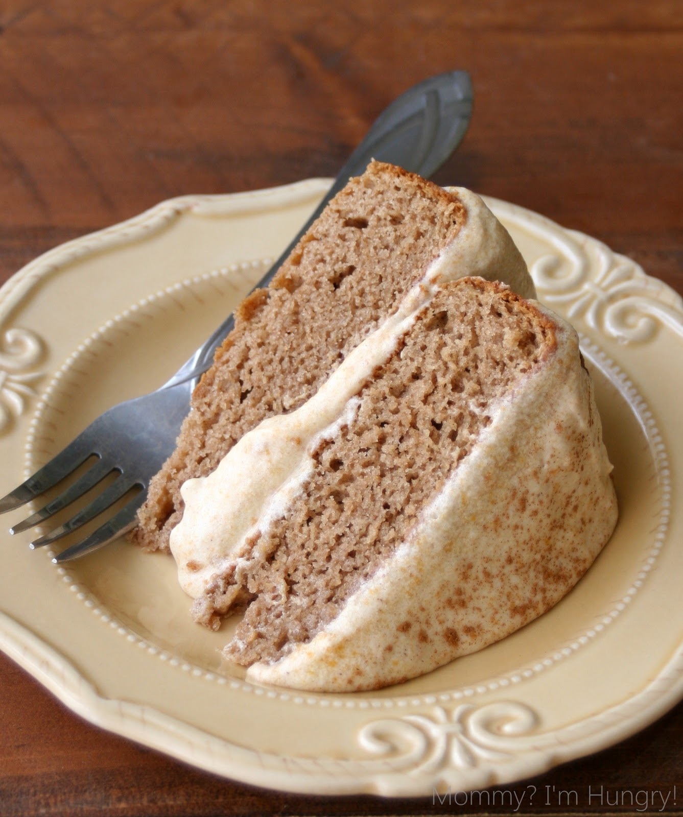 MIH Recipe Blog Gluten Free Spice Cake with a Pumpkin Buttercream