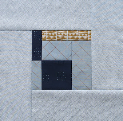 Modern sampler quilt - Block #7 - Inspired by Tula Pink City Sampler