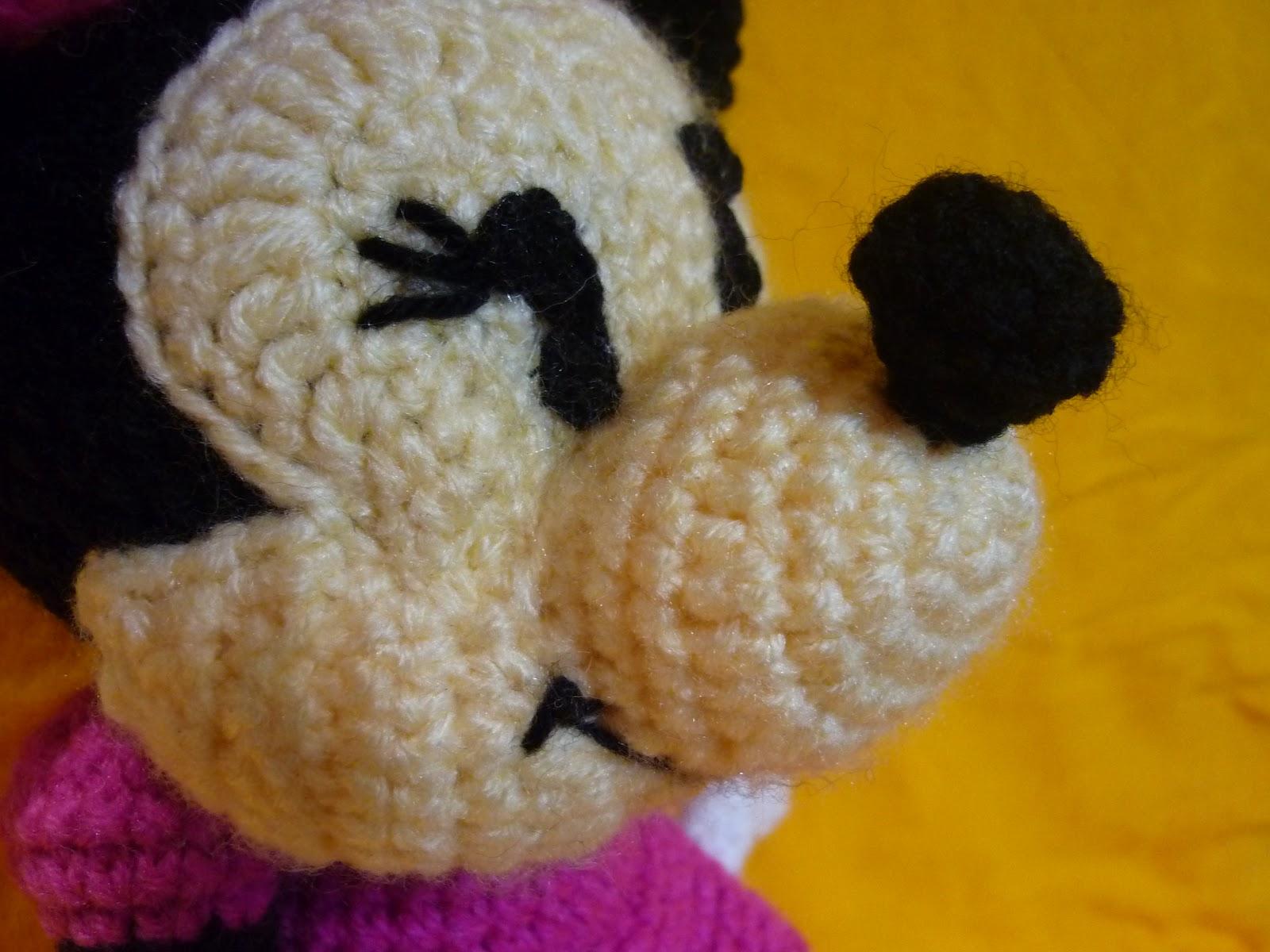 Vistoso Patrón De Crochet Mickey Mouse Elaboración - Manta de Tejer ...