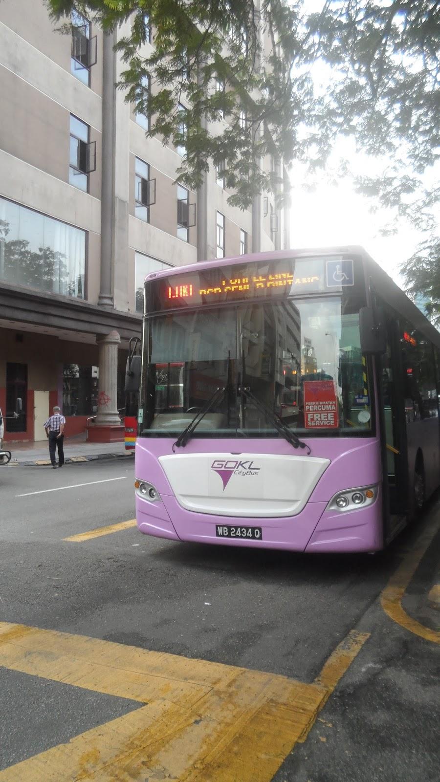 Interesting Corner of Me Kuala Lumpur Trip 2015 Go KL City Bus