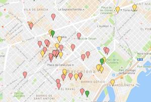 MAPA DE MUSEOS Y GALERÍAS