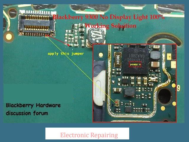 Blackberry Charging Light Blackberry 9300 Lcd Light
