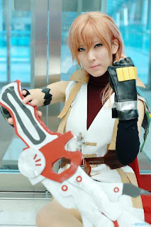 Final Fantasy XIII Eclair/Claire Farron (Lighting) Cosplay by Yuzu Inumachi