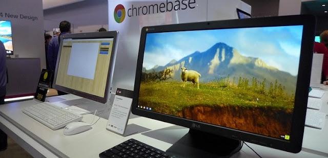 моноблок Acer Chromebase 24 на выставке
