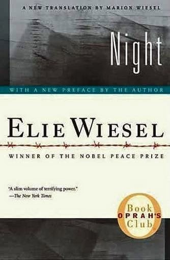 Night by Elie Wiesel Paperback Book
