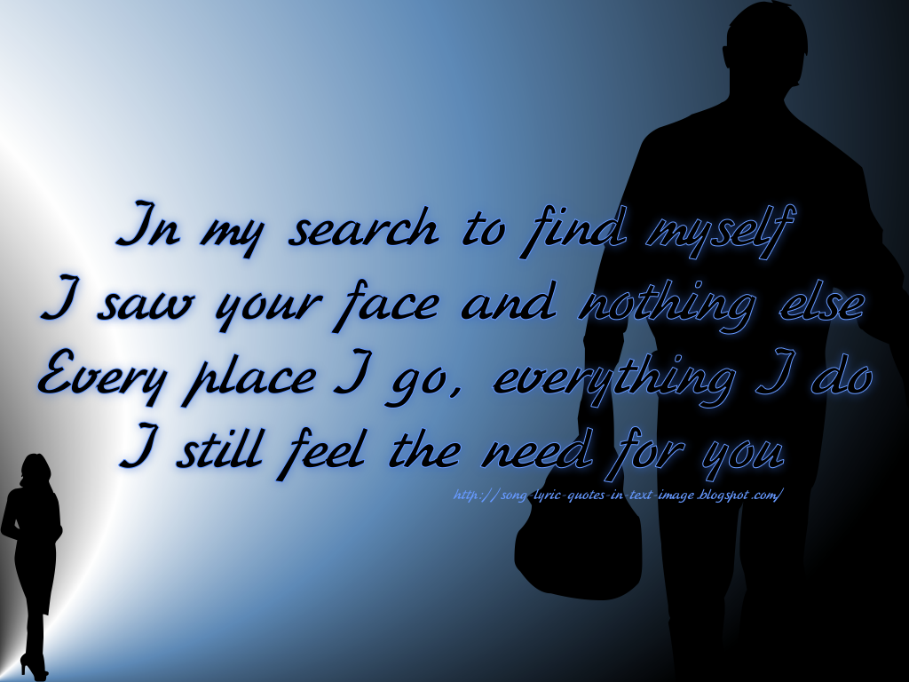 Take Me Back - Michael Jackson Song Lyric Quote in Text Image