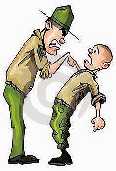 Chiste de militares