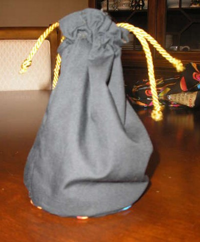 Bolsa de tela f cil portal de manualidades - Bolsas de tela manualidades ...