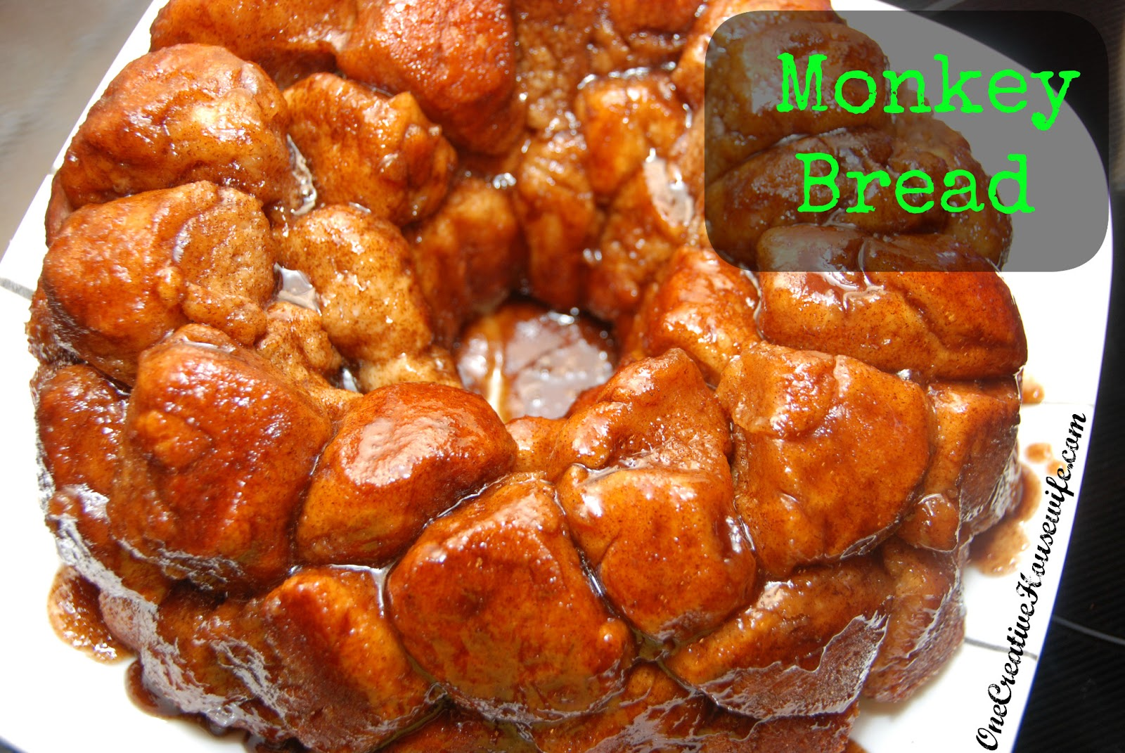 One Creative Housewife: Monkey Bread