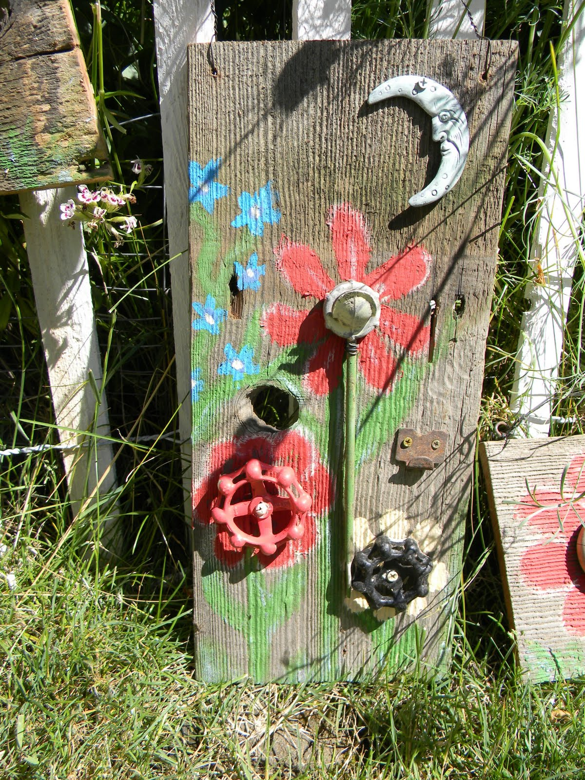 Emily S Up Cycled Furniture Folk Art Garden Plaques