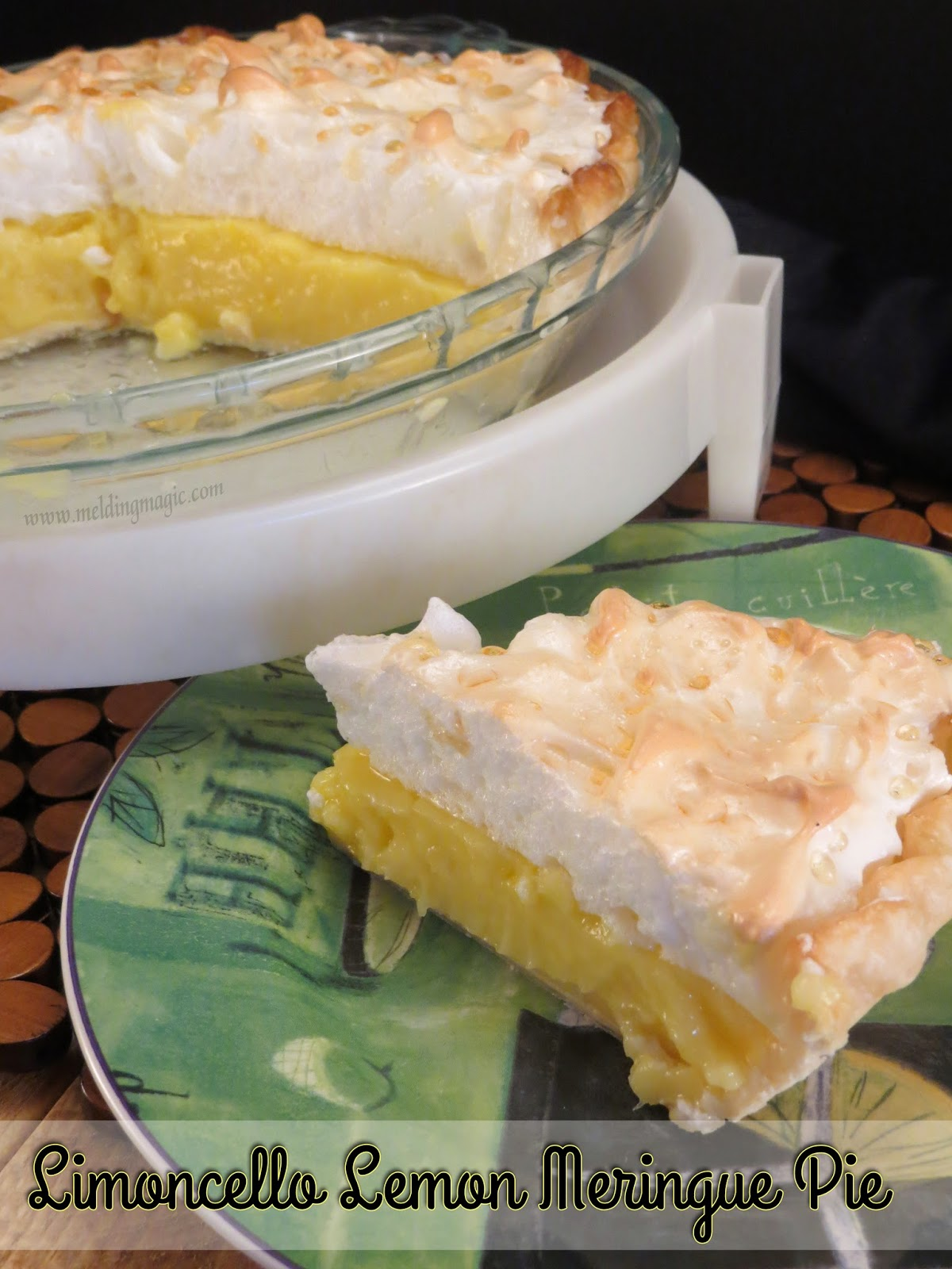 Limoncello Lemon Meringue Pie