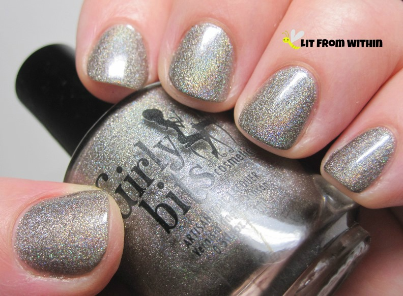 a gorgeous grey holo, Girly Bits Dash Away All