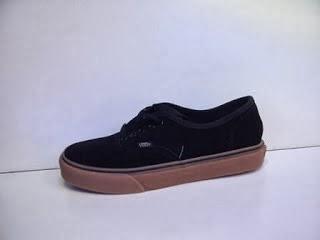 Sepatu Vans Authentic Classic HF hitam murah,