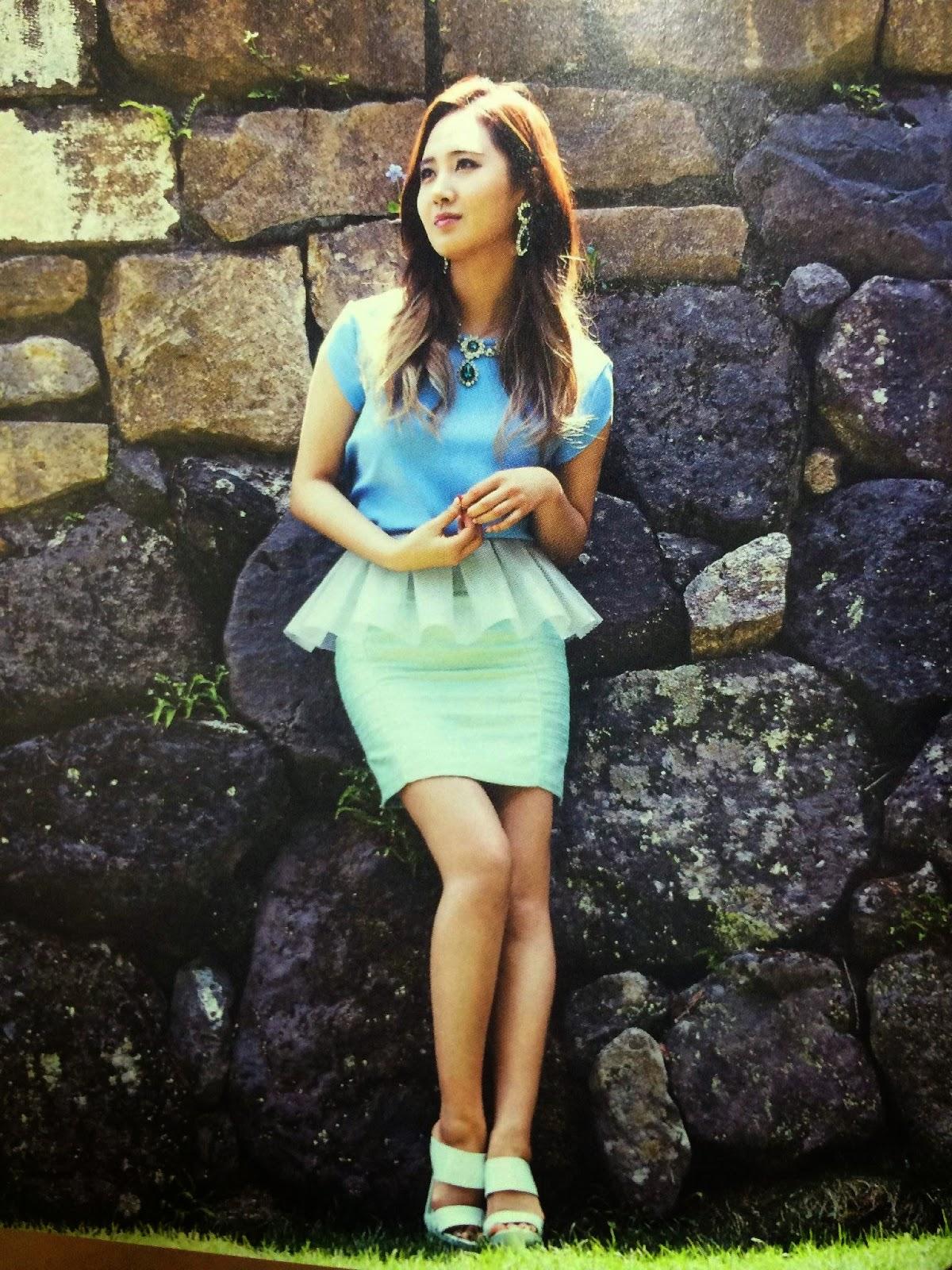 SNSD Yuri (유리; ユリ) Girls Generation The Best Scan Photos 7