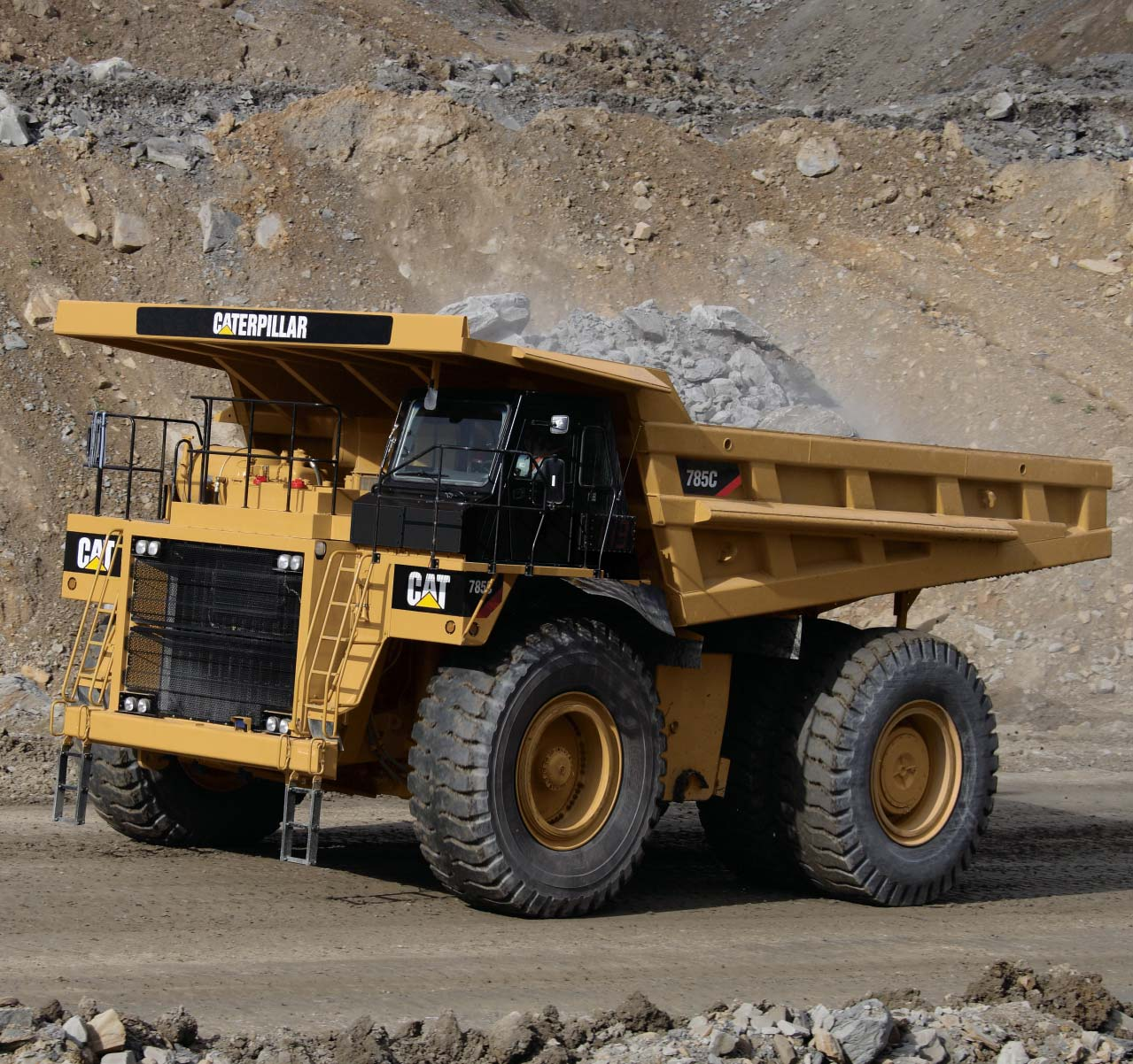 New 785c Mining Truck Main Features