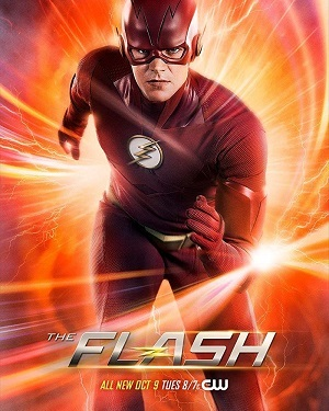 The Flash 5ª Temporada Séries Torrent Download capa